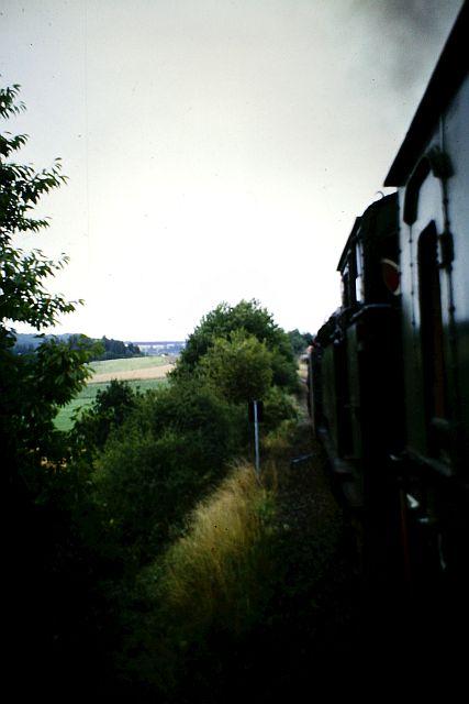 41 360 und 74 1192 auf der Westerwaldbahn 1986 1213