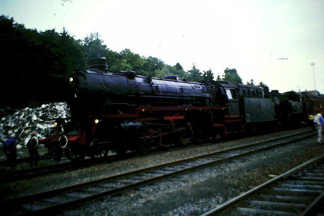 41 360 und 74 1192 auf der Westerwaldbahn 1986 1310