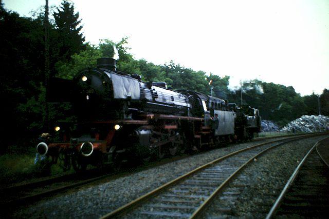 41 360 und 74 1192 auf der Westerwaldbahn 1986 1410