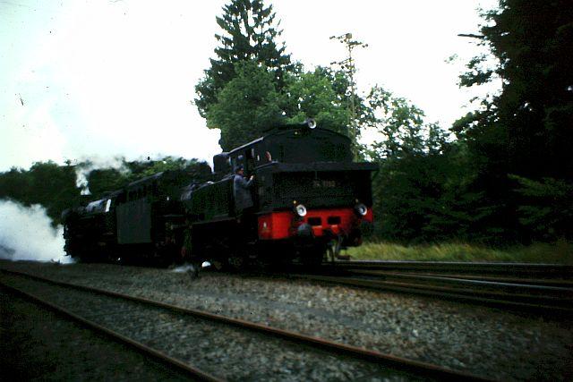 41 360 und 74 1192 auf der Westerwaldbahn 1986 1510