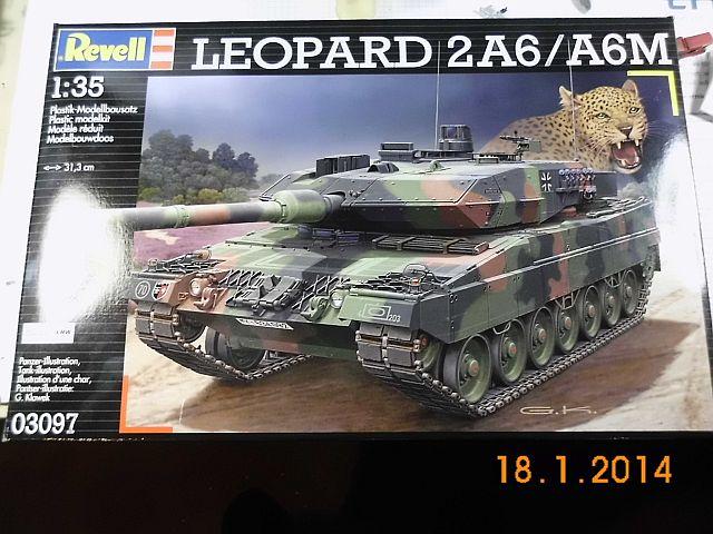 Revell 03097 - Panzer Leopard 2A6/A6M - 1/35 - Vorstellung 162