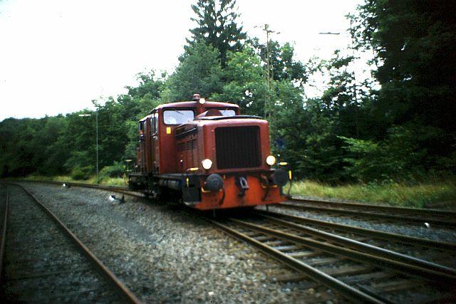 41 360 und 74 1192 auf der Westerwaldbahn 1986 164