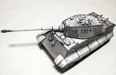 Paper-Replika - Königs-Tiger (Tiger II) in 1/35 - kostenloser Download 166
