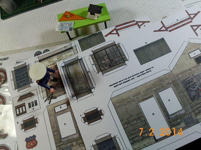 Papermau - Texaco Tankstelle - Galerie 180