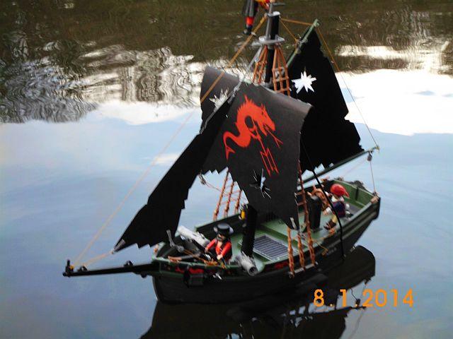 Playmobil 5238 - Piratensegler - RC-gesteuert - Galerie 251