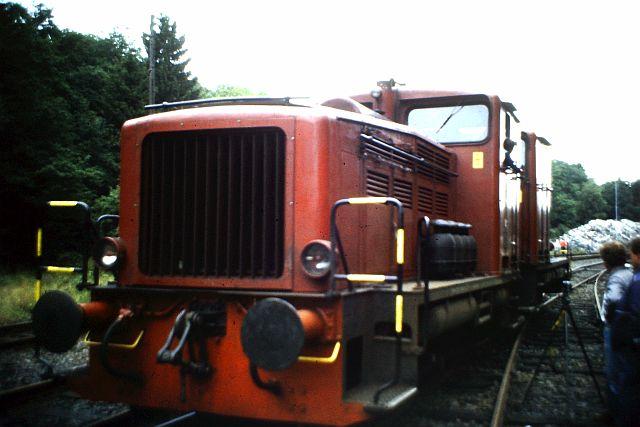 41 360 und 74 1192 auf der Westerwaldbahn 1986 259