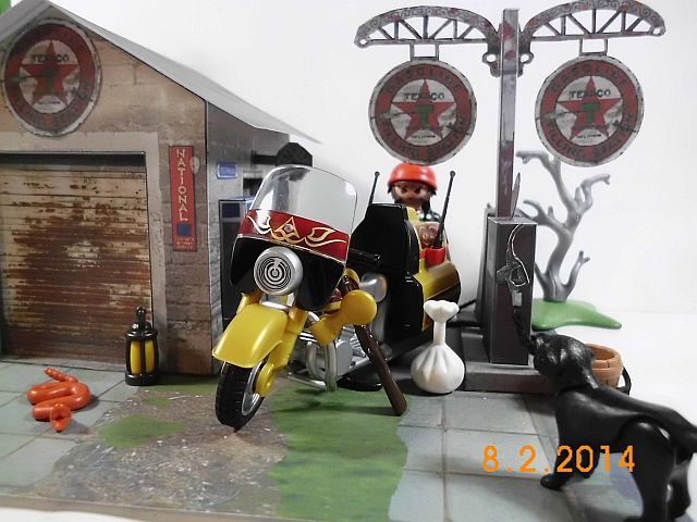 Papermau - Texaco Tankstelle - Galerie 29_fer10