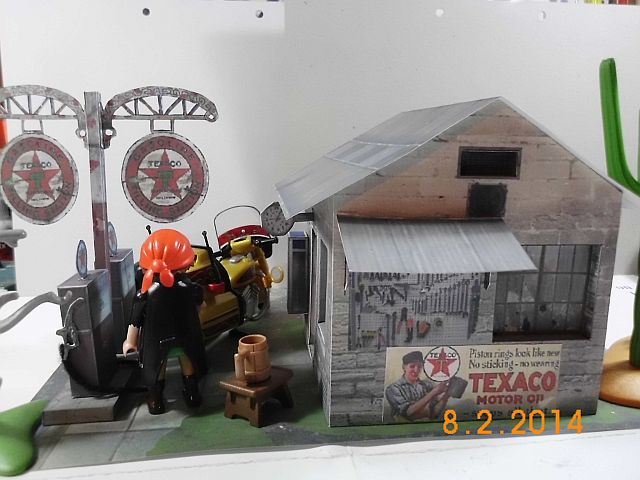Papermau - Texaco Tankstelle - Galerie 33_hin10
