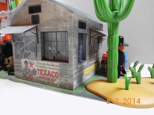 Papermau - Texaco Tankstelle - Galerie 3410