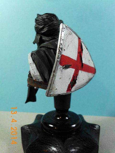 YH 1827 - Templar Knight in Jerusalem - Resinbüste 1/10 - Galerie 381