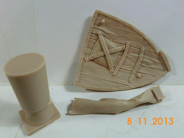YH 1827 - Templar Knight in Jerusalem - Resinbüste 1/10 - Vorstellung 3b10