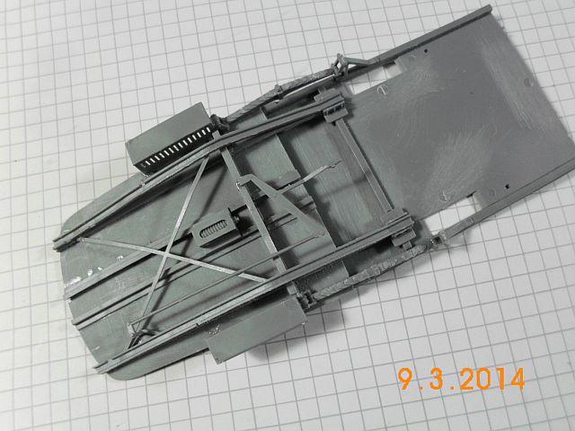 Miniart 38001 - European Tram - 1/35 - Baubericht 455