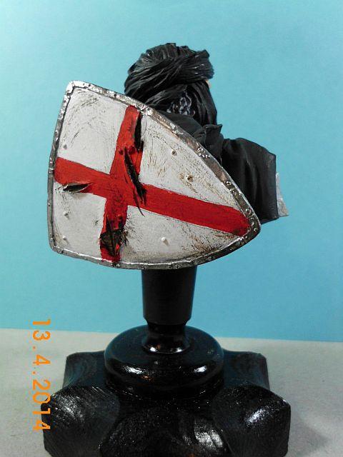 YH 1827 - Templar Knight in Jerusalem - Resinbüste 1/10 - Galerie 458