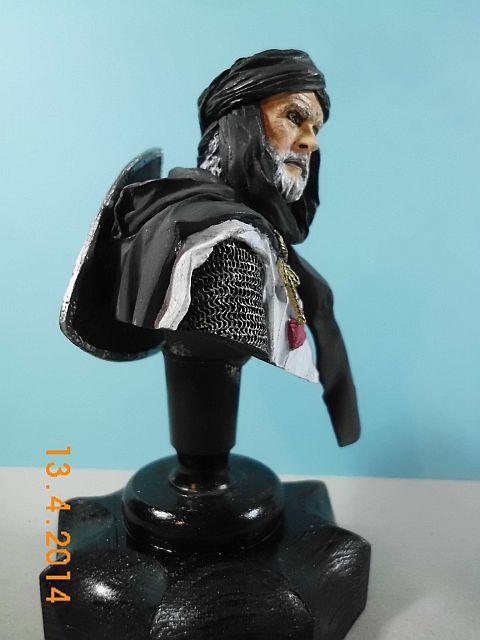 YH 1827 - Templar Knight in Jerusalem - Resinbüste 1/10 - Galerie 544