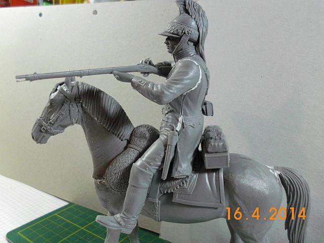 Baubericht französ. Dragoner 1815, MiniArt / 1:16 545