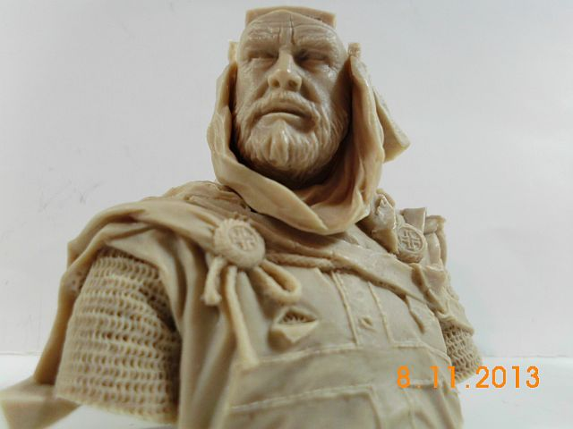 YH 1827 - Templar Knight in Jerusalem - Resinbüste 1/10 - Vorstellung 5b10