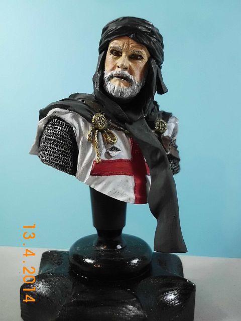 YH 1827 - Templar Knight in Jerusalem - Resinbüste 1/10 - Galerie 632