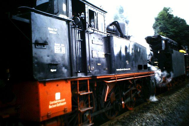 41 360 und 74 1192 auf der Westerwaldbahn 1986 717