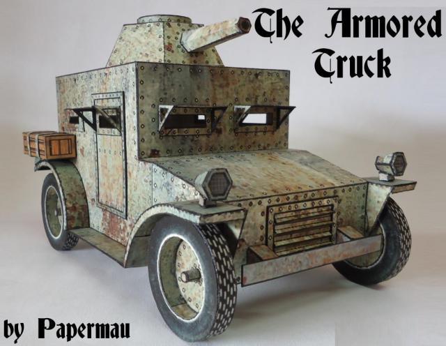 """Papermau - alter """"Panzerwagen"""" - kostenloser Download Armore10"""
