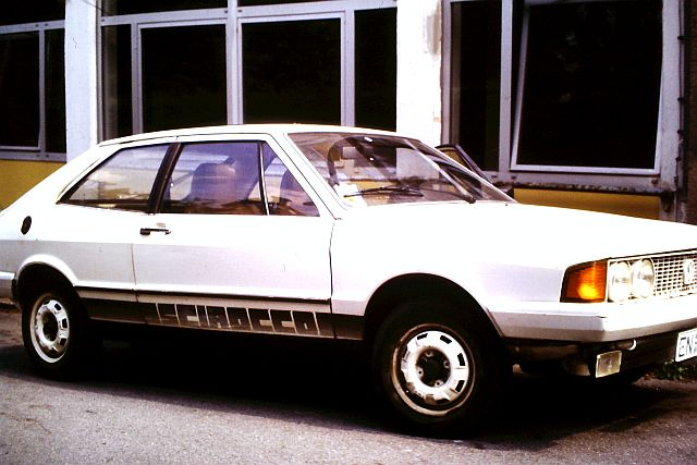 """VW Scirocco LS 80 - Mein erstes Auto - """"Historische"""" Bilder Sci410"""