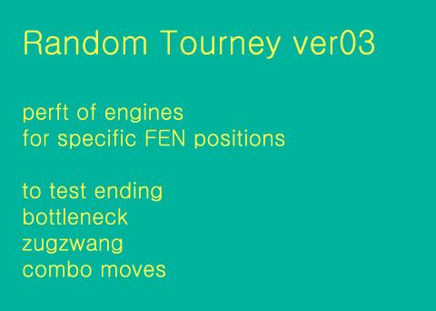 strongest engines random position tourney - season 5 3qwetq10