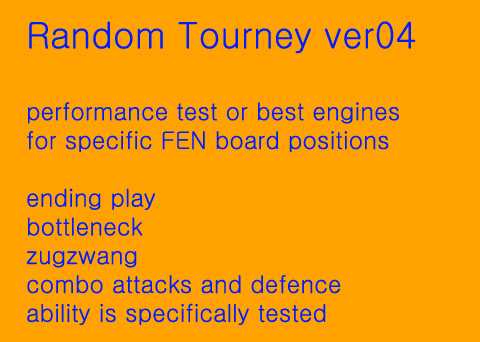 strongest engines random position tourney - season 5 4rqqry10