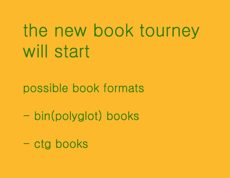 the new Book Tournament - bin & ctg Qregqt10