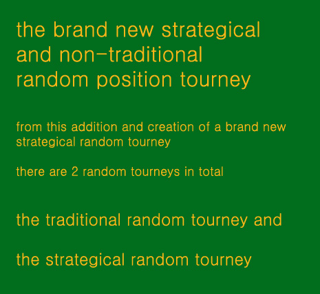 a new kind of strategical & tactical random position tourney Qwbtqb10