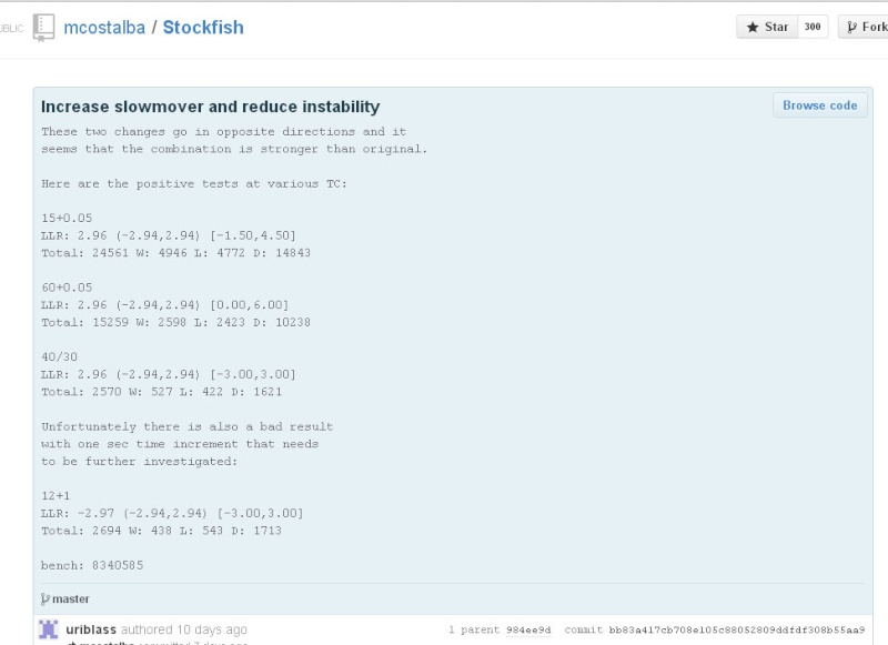 stockfish - new patch code update Qwerqw10