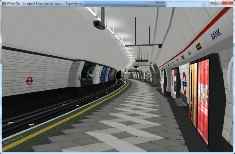 Openbve Central Line demo Ban10