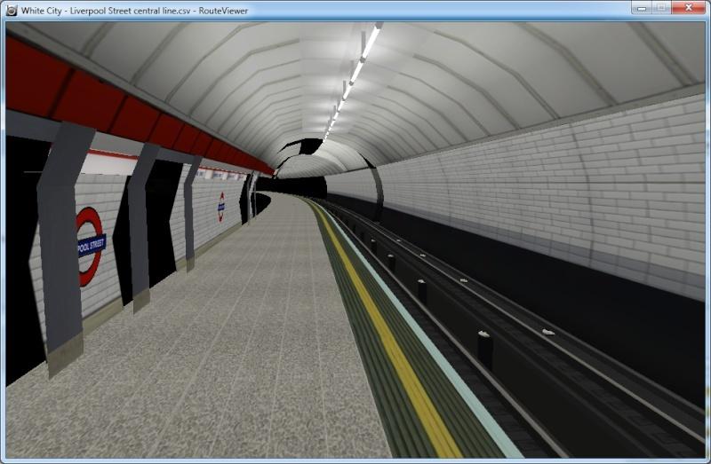 Openbve Central Line demo Lis11