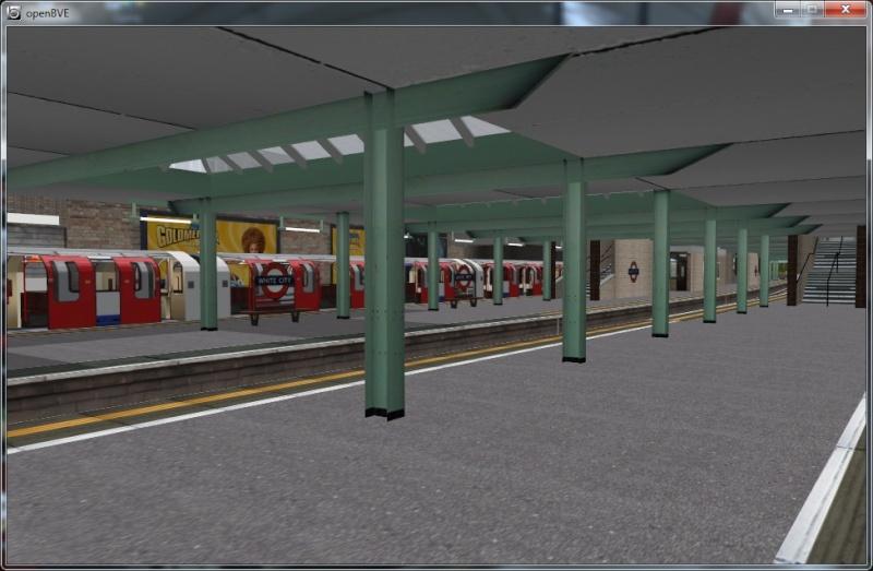 Openbve Central Line demo Whc10