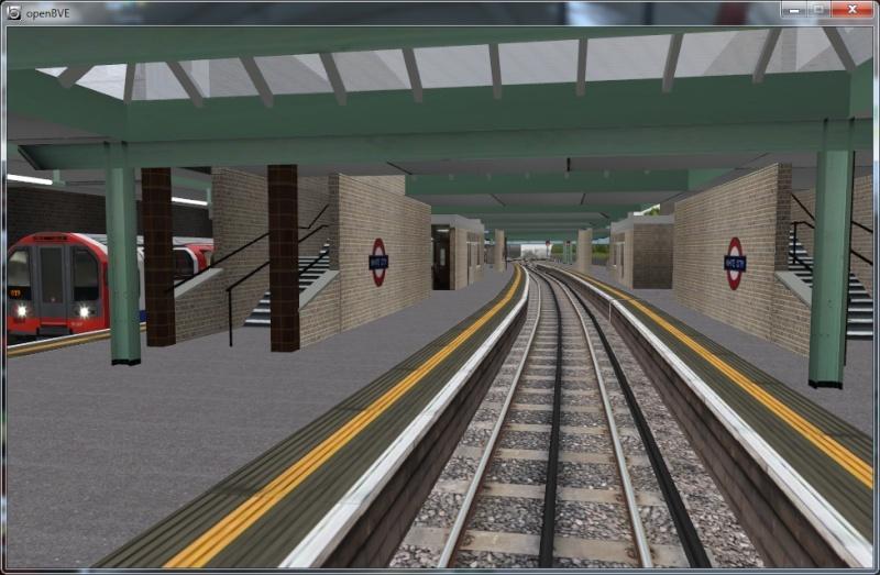 Openbve Central Line demo Whc210