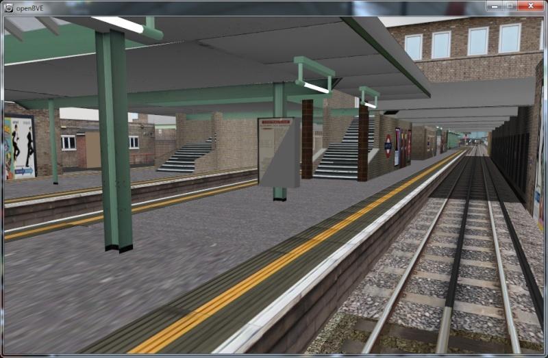 Openbve Central Line demo Whc310