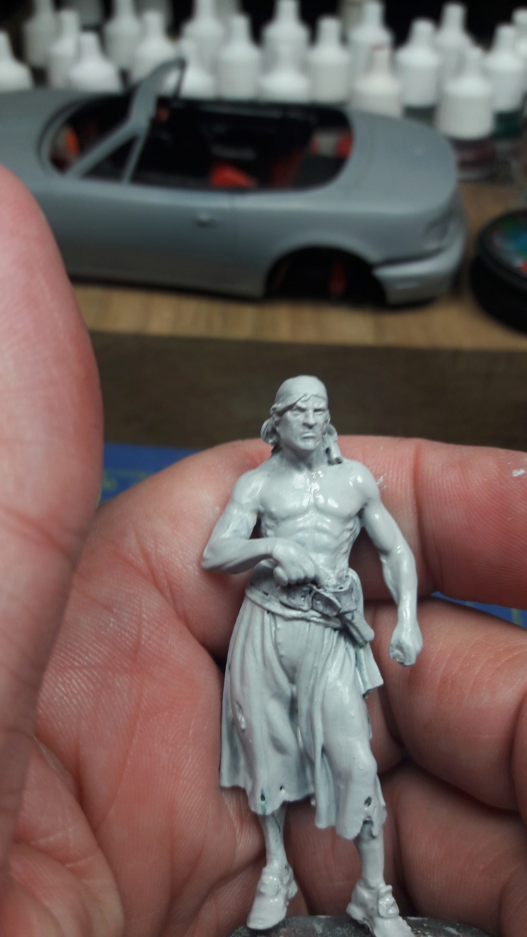 Pirate of Tortuga, 1660 - Andrea Miniatures 54mm 20180812