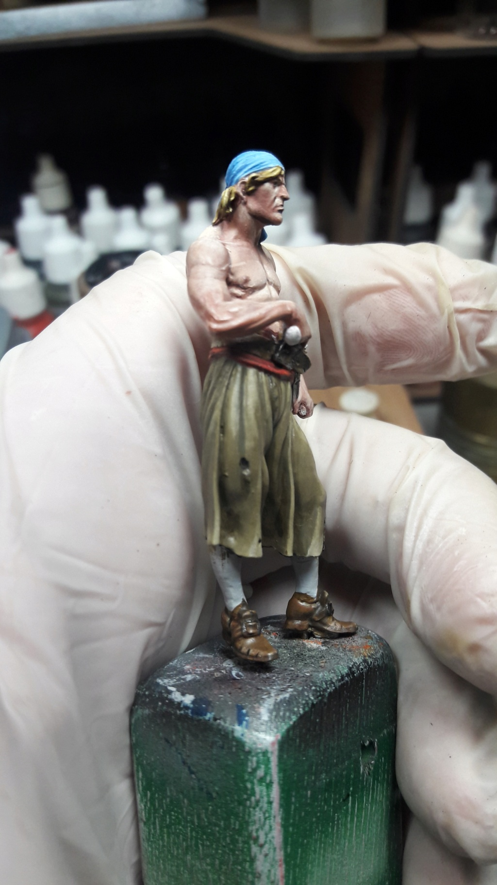 Pirate of Tortuga, 1660 - Andrea Miniatures 54mm 20180825