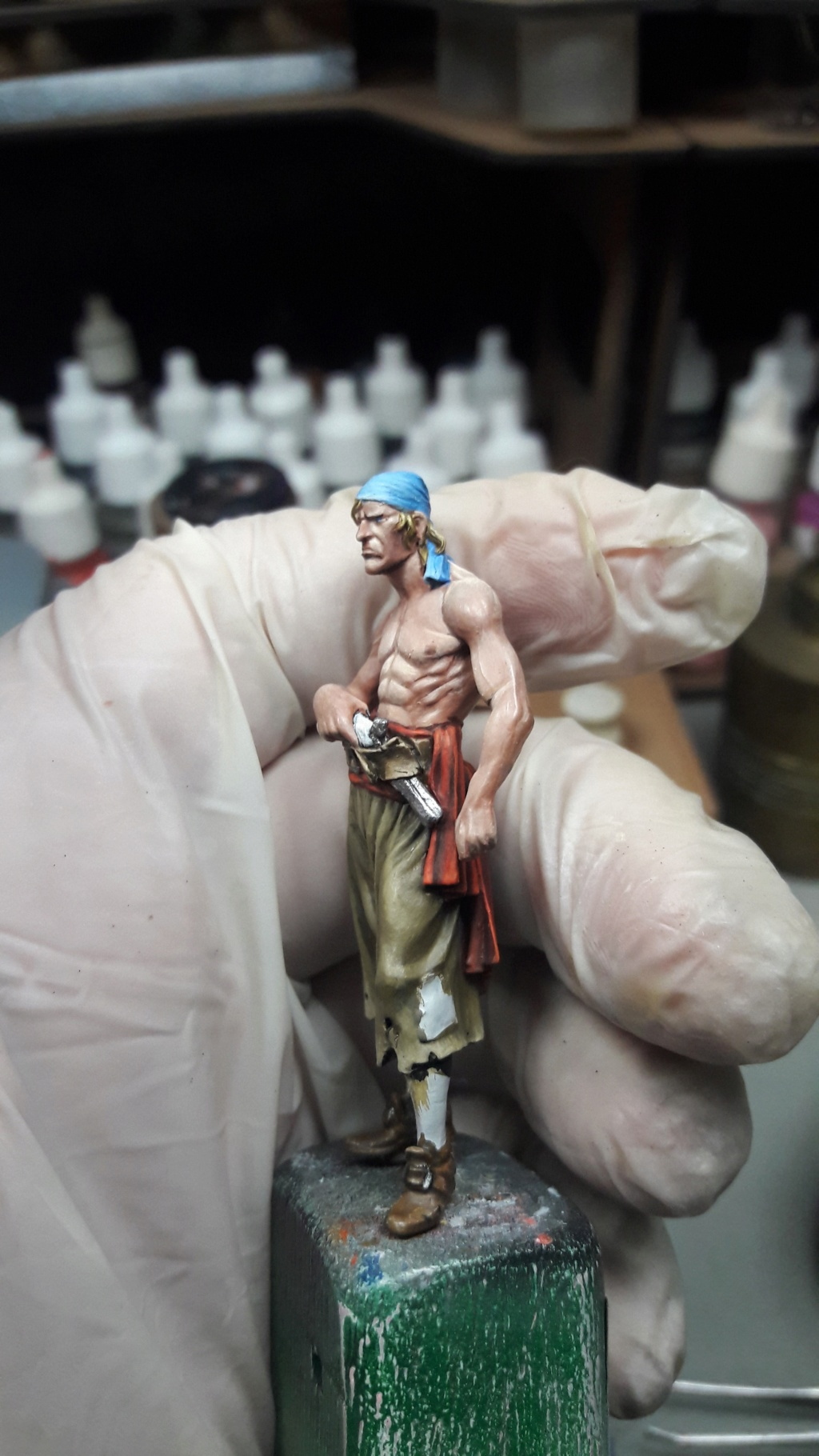 Pirate of Tortuga, 1660 - Andrea Miniatures 54mm 20180828