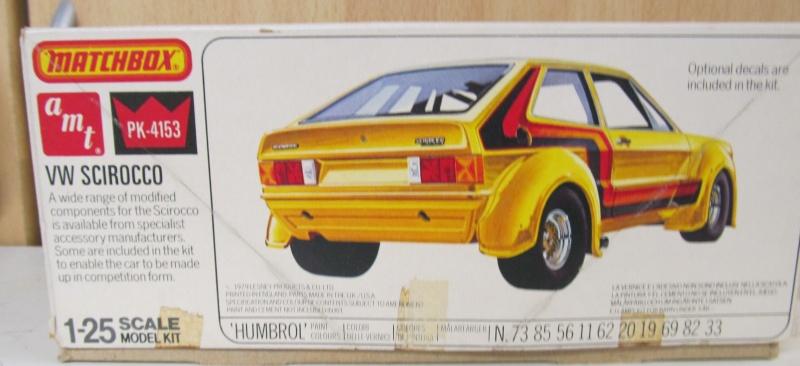 VW Scirocco in 1 zu 25 von Matchbox-AMT Amt-ma10