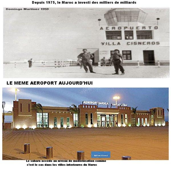 Sahara Marocain histoire etalée sur 40ans Dakhla10