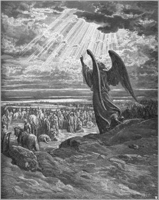 L'ange de l'Eternel est-il Yéshoua ou au service de Yéshoua? Bible_10
