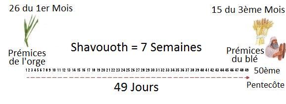 Shavouoth-Pentecôte Pleinement révélée - Livre des Jubilés Omer112
