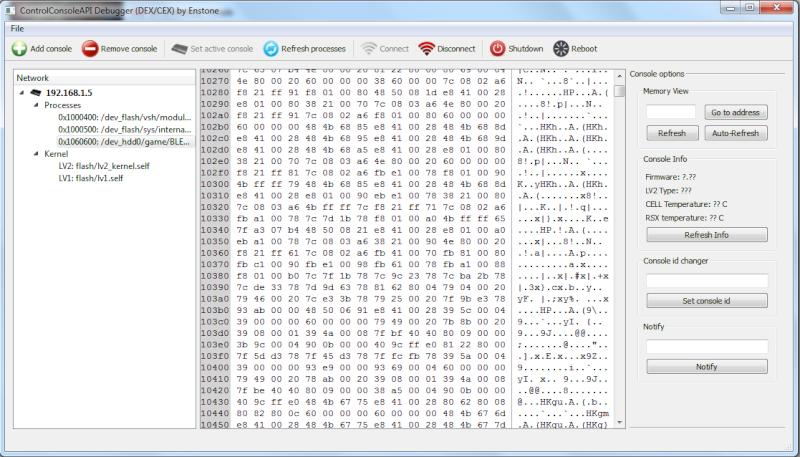 [PS3] RTE sur CEX: Installer et Utiliser CCAPI 2.00 4spn10