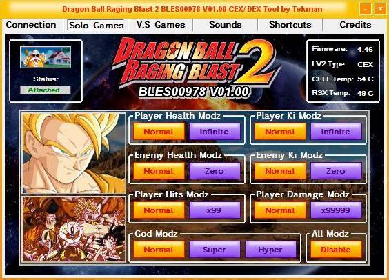 [PS3] PREWIEW: Tool Dragon Ball Raging Blast 2 01.00 Captu103