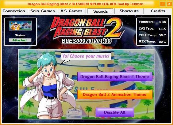 [PS3] PREWIEW: Tool Dragon Ball Raging Blast 2 01.00 Captu104