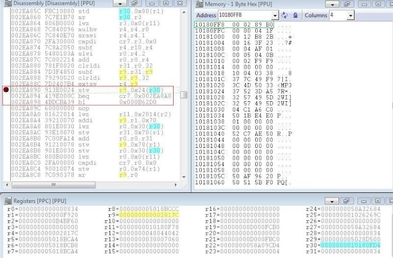 RTE/RTM, ASM etc... Aide, infos, discussion sur la recherche de CHEATS - Page 3 Captu112