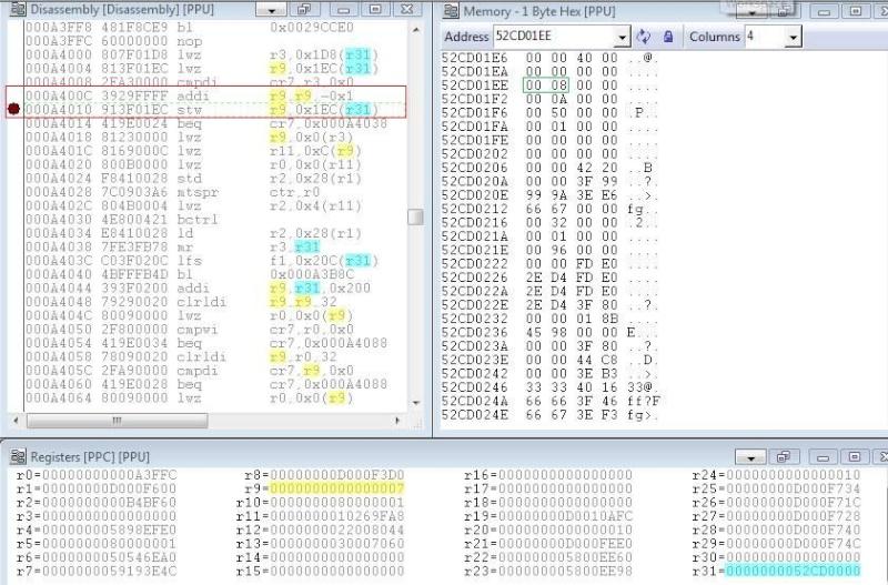 RTE/RTM, ASM etc... Aide, infos, discussion sur la recherche de CHEATS - Page 3 Captu114
