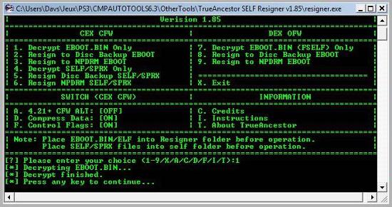 [PS3] Modification d'EBOOT & Création de PKG: Service Technique Captur12