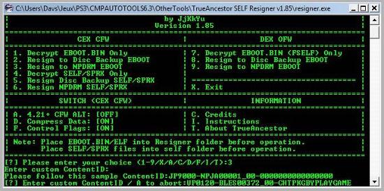 [PS3] Modification d'EBOOT & Création de PKG: Service Technique Captur15