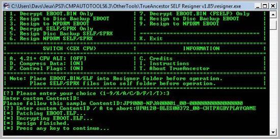 [PS3] Modification d'EBOOT & Création de PKG: Service Technique Captur16