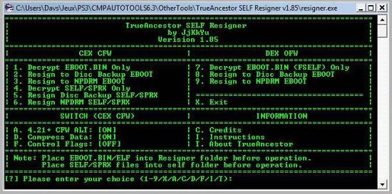 [PS3] Modification d'EBOOT & Création de PKG: Service Technique Captur17